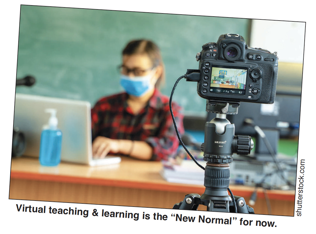 Virtual Teaching and Learning is the New Normal for now