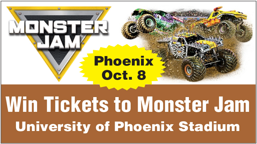 Win Tickets to Monster Jam