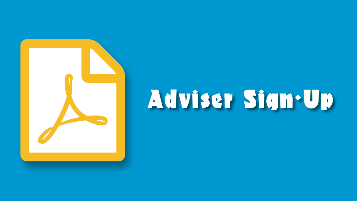 Adviser Sign-Up